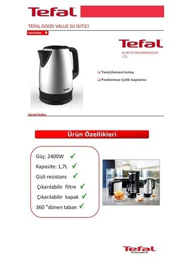 Good Value Su Isıtıcı-Tefal